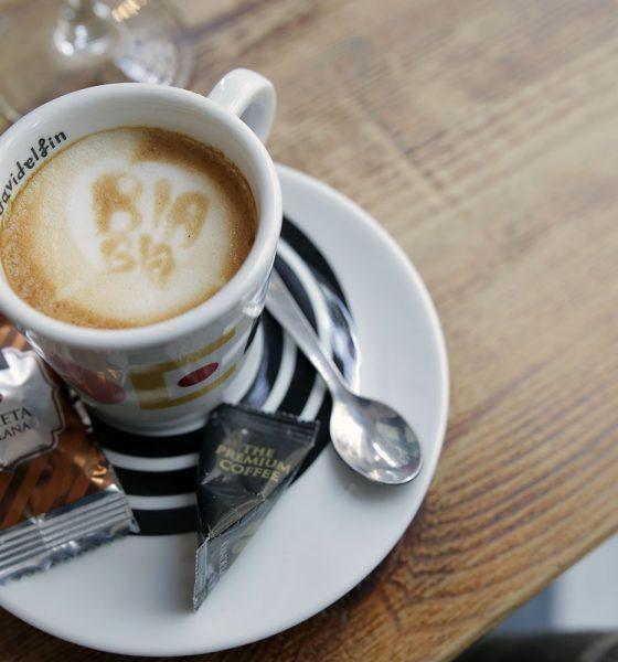 Café Bla Bla con cuerpo consistente y cremoso